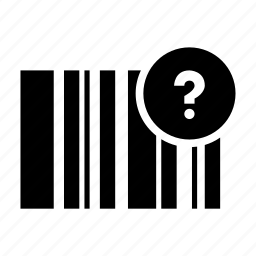 bar code, qr code, radar, scan icon