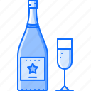 alcohol, bar, champagne, club, party, wine, wineglass icon