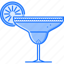 alcohol, bar, club, glass, margarita, party icon