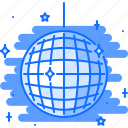 ball, bar, club, disco, party, shine icon