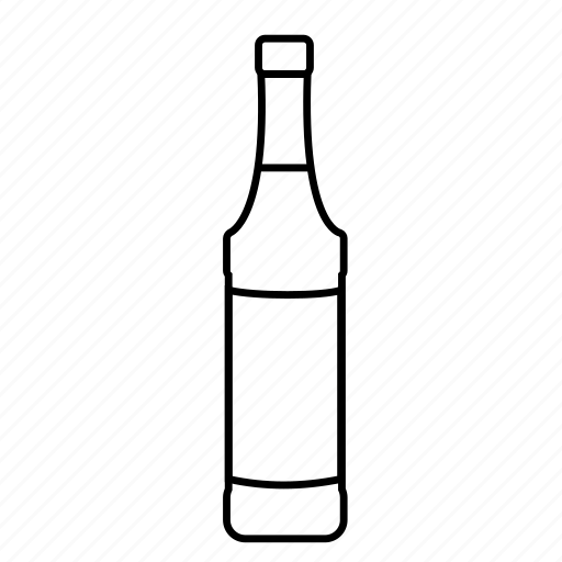 bar, bottle, cocktail, liqueur, monin, monin bottle, syrup icon