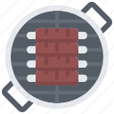 barbecue, bbq, cooking, grill, ribs icon