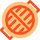 barbecue, burn, equipment, grill, rack, toast icon