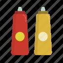 barbecue, bbq, food, grill, ketchup, mustard