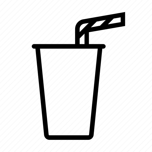 bbq, beverage, cup, disposal, drink, strow icon