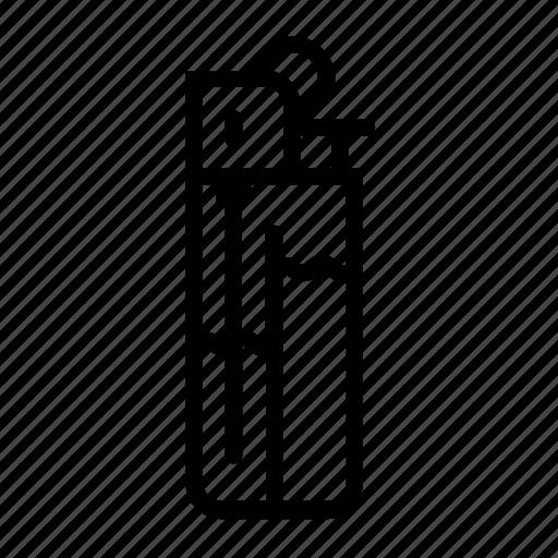 bbq, fire, lighter, smoking icon