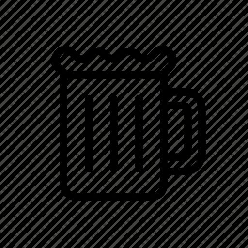 alcohol, bbq, beer, beverage, mug icon