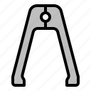 bbq, grilled, tongs, tool icon