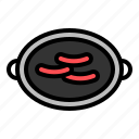 bbq, food, grilled, grilled meat, meat icon