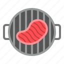 bbq, food, grilled, grilled meat, steak icon