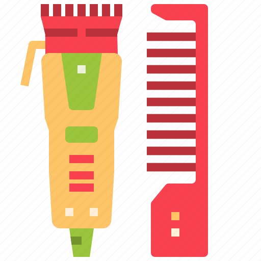 barber, beauty, clippers, cut, handcraft, makeup, tools icon
