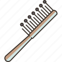 brush, hair, hairdressing, beauty, accessory