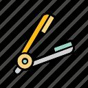 barber, barbershop, beauty salon, business, design, parlour icon