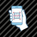 app, qr code, qr-code, reader, scanner, scanning, smartphone icon