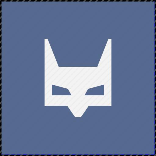 bat, batman, face, form, mask icon