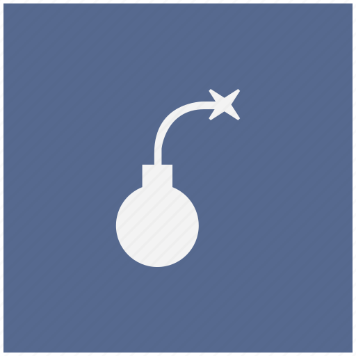 bomb, form, granate icon