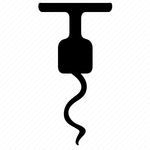 bottle, corkscrew, open, spin, tailspin, wine icon
