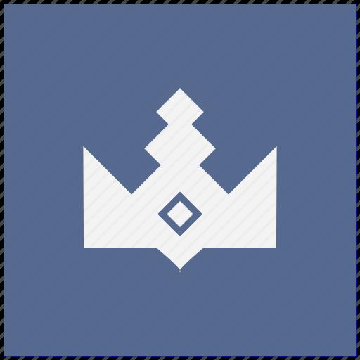 cartoon, crown, form, king, royal icon