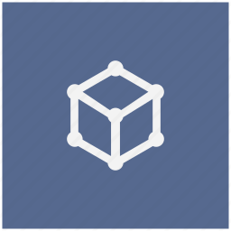 cube, dimention, figure, form, geometry, structure icon
