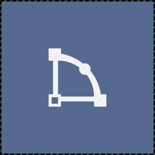 curve, figure, form, object, transform icon