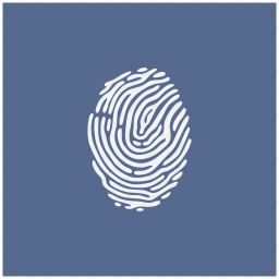 biometry, fingerprint, form, identity, person icon