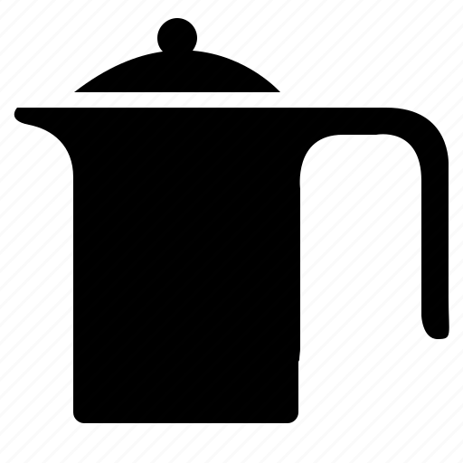 dishes, drink, kettle, kitchen, pot icon