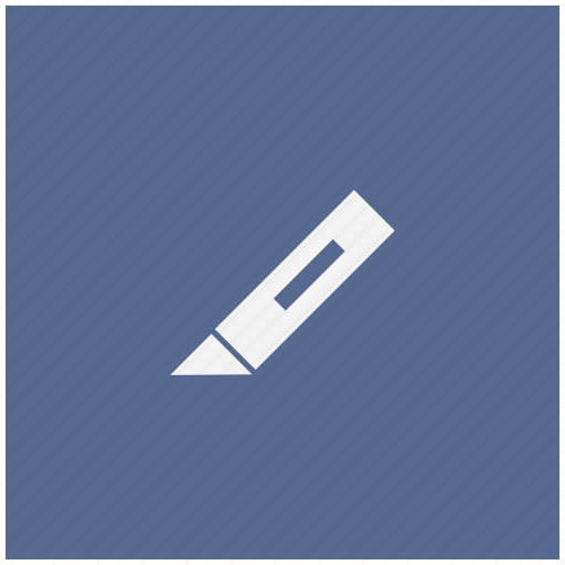 cut, edit, form, image, knife, tool icon