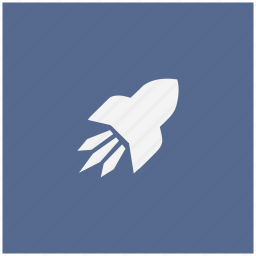 flight, form, rocket, space icon