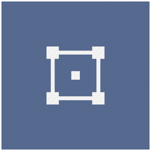 figure, form, geometry, object, square icon