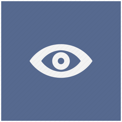 eye, form, mode, tool, view, visible icon