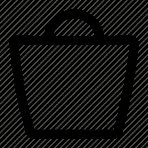 bag, cart, commerce, shopping icon