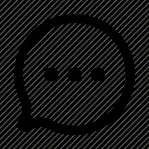 alt, comment, message, quote icon