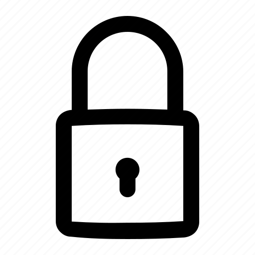 close, lock, secure, security icon
