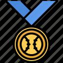 award, ball, baseball, match, medal, player, sport icon