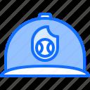 baseball, cap, emblem, match, player, sport, team icon
