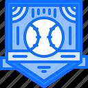 badge, baseball, emblem, match, player, sport, team icon