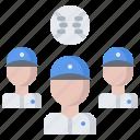 ball, baseball, group, match, player, sport, team icon