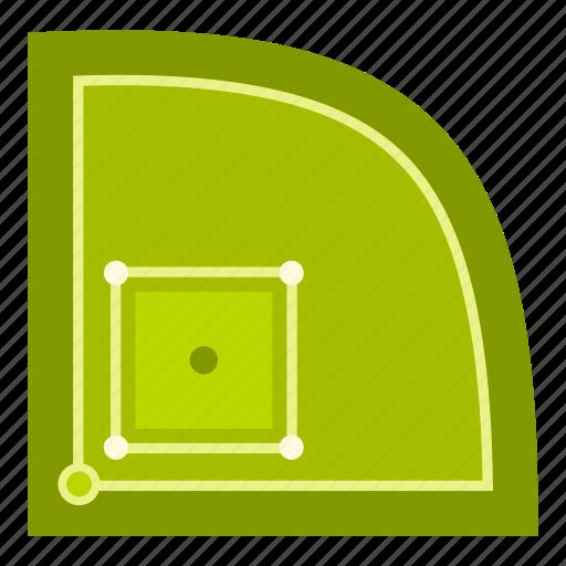 base, baseball, field, game, grass, sport, stadium icon