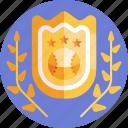badge, award, sports, baseball, prize