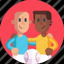 game, ball, competition, players, baseball, baseball ball, sports icon