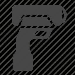 baseball, equipment, measuring, radar gun, softball, speed gun, speed sensor icon