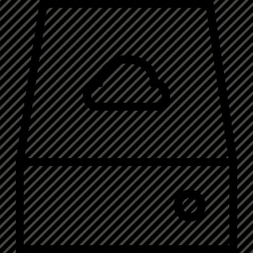 cloudserver, server icon