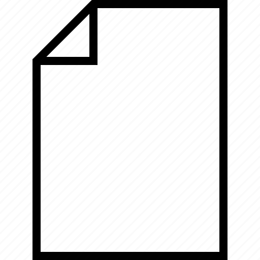 document, note, paper, sheet icon