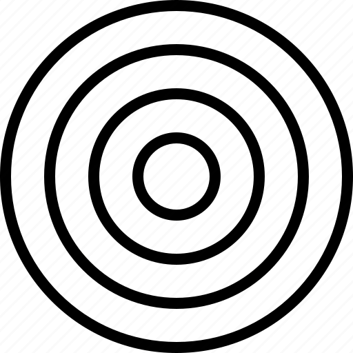 point, target icon