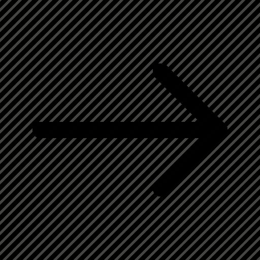 arrow, direction, next icon