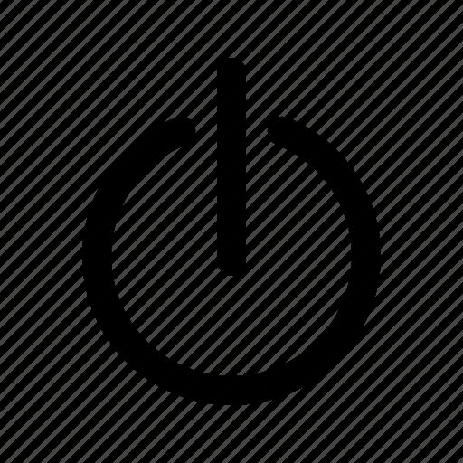 power, shut, shut down icon