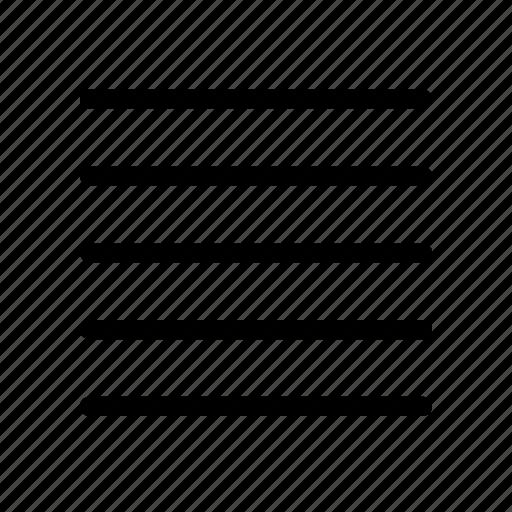 list, menu, text icon