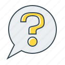 ask, ask a question, help, mark, question, question mark icon
