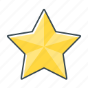 badge, favorite, prize, rating, star icon
