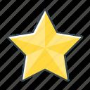 star, badge, favorite, prize, rating